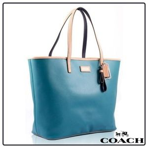 COACH Leather Metro Tote